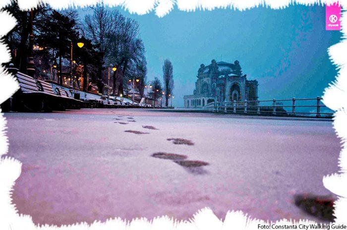 Iarna la Constanta